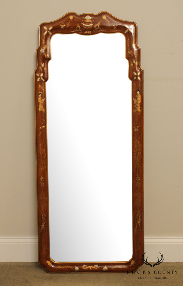 Friedman Brothers Chinoserie Frame Beveled Wall Mirror # 6374