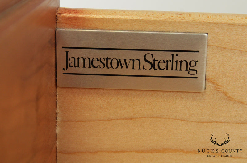 Jamestown Sterling Solid Cherry Chippendale Style 9 Drawer Dresser
