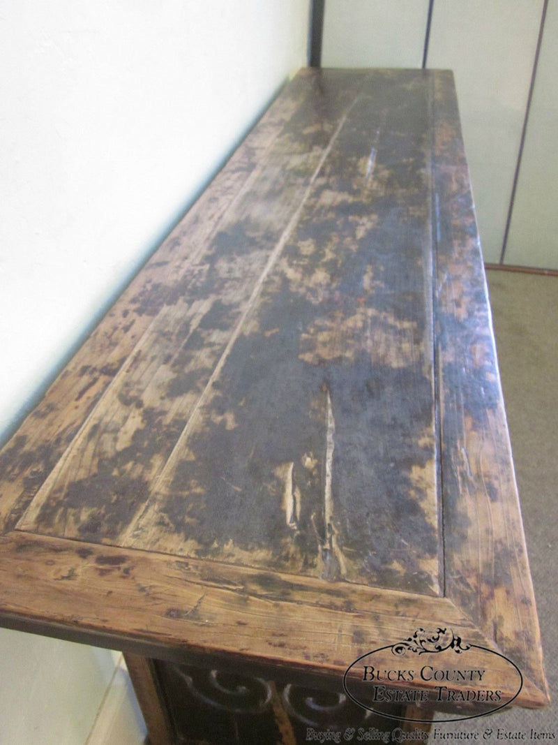 Antique Rustic Chinese Altar Table
