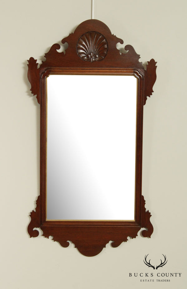 A. Cooper Bucks County Mahogany Chippendale Style Wall Mirror