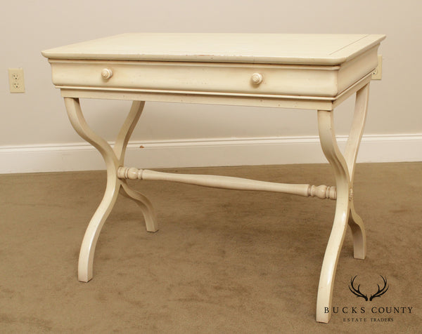 Grange French X Base One Drawer Writing Desk