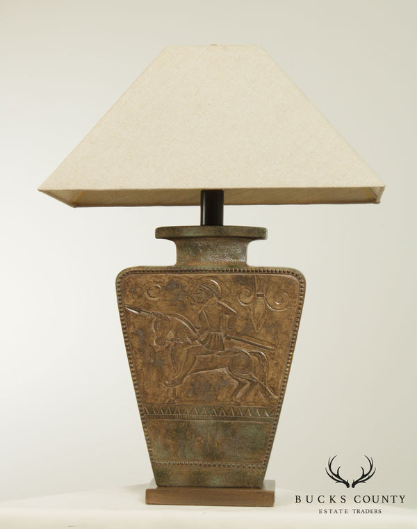 Casual Lamps Romanesque Vase Table Lamp