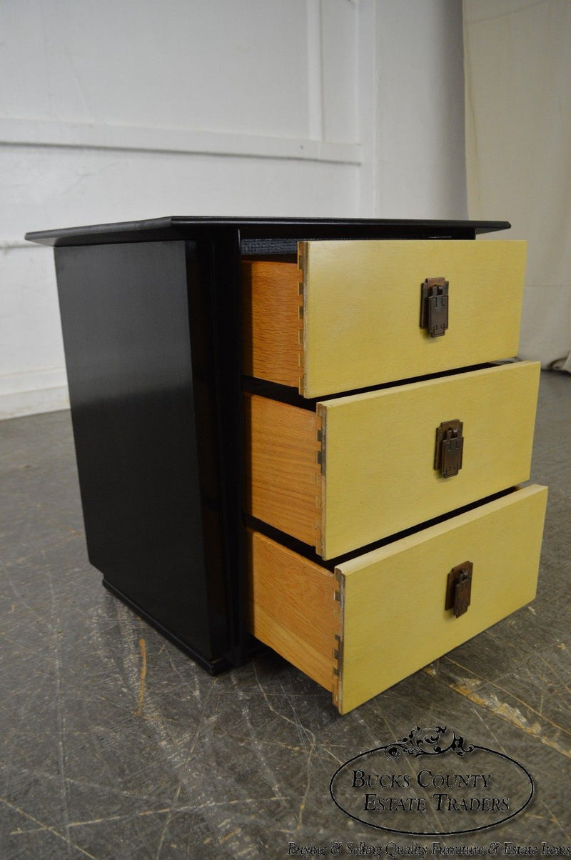 "Kent Coffey ""The Park Avenue"" Collection Pair of Mid Century Nightstands Chests"