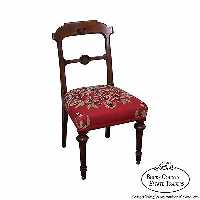 Antique 19th Century English Regency Side Chair