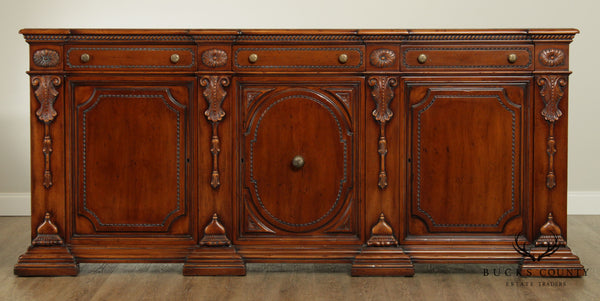 Francesco Molon Giemme Large French Louis XIV Style Sideboard