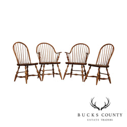 Thomasville Stonecreek Windsor Style Set 4 Dining Chairs
