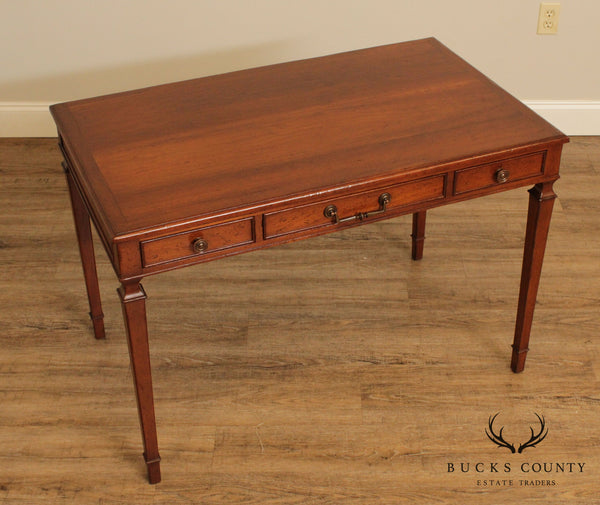 Regency Style Small Vintage Fruitwood Writing Desk