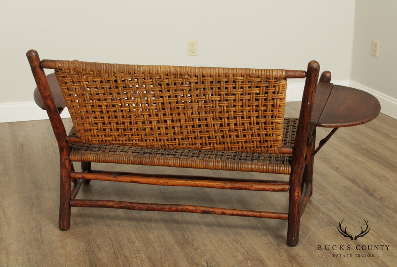Old Hickory Antique Antique Settee