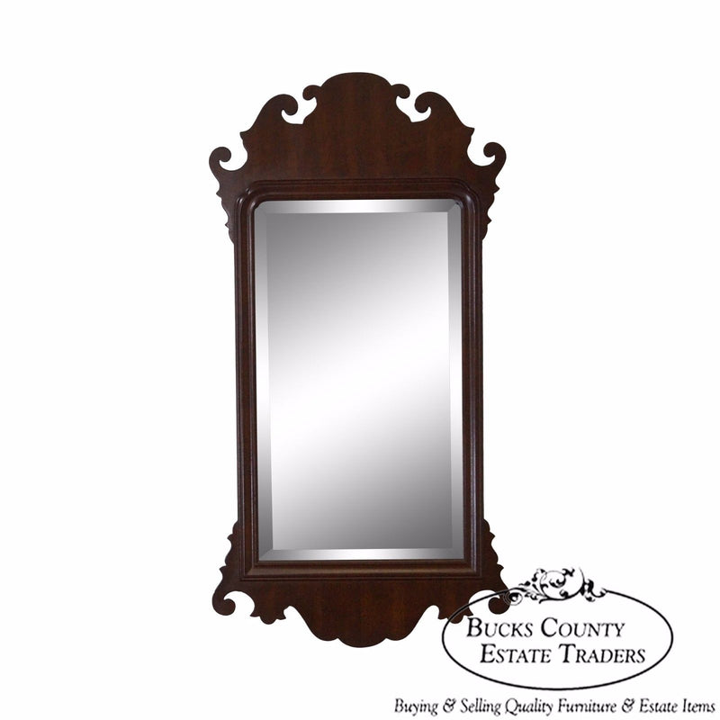 Friedman Brothers Colonial Williamsburg Chippendale Looking Glass Mirror