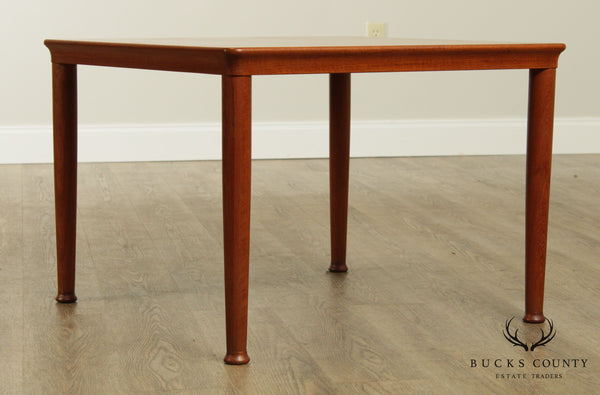 Danish Modern Square Teak Coffee Table Mobelfabrik