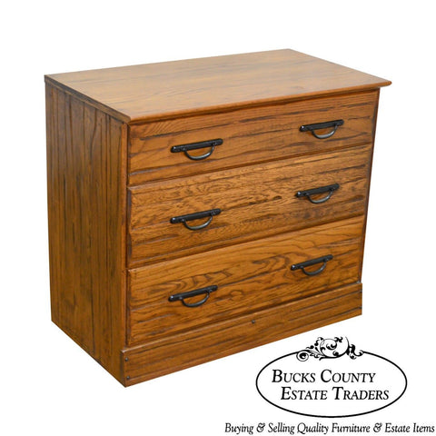 Brandt Ranch Oak Rustic Single Chest of Drawers