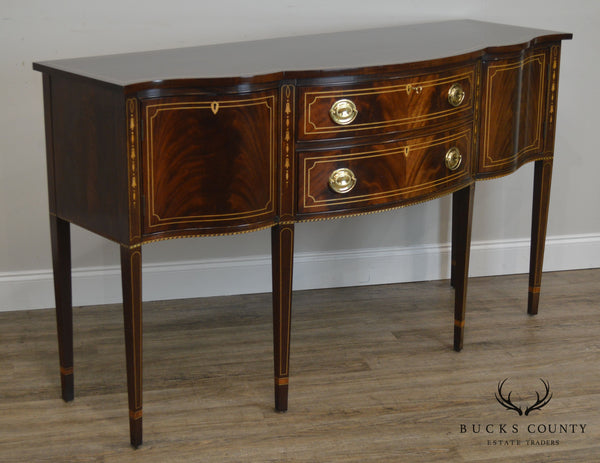 Stickley Federal Style Mahogany Inlaid Sideboard