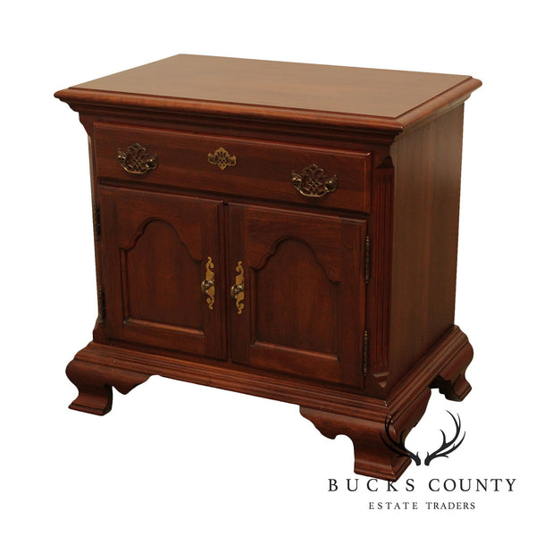 Jamestown Sterling Solid Cherry Nightstand