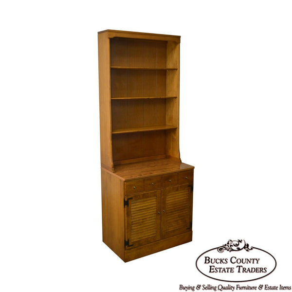 Ethan Allen Custom Room Plan Cabinet Base Bookcase Hutch