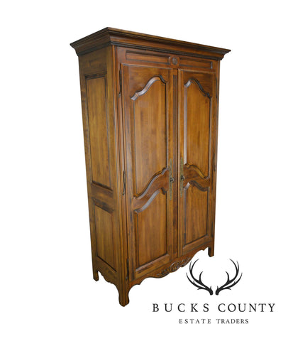 Ethan Allen Country French Collection Large 2 Door Armoire Cabinet
