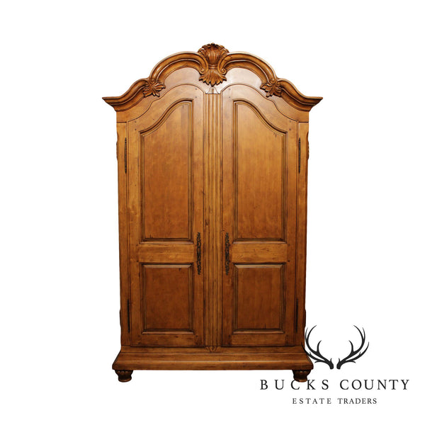 French Style Large Quality 2 Door Armoire