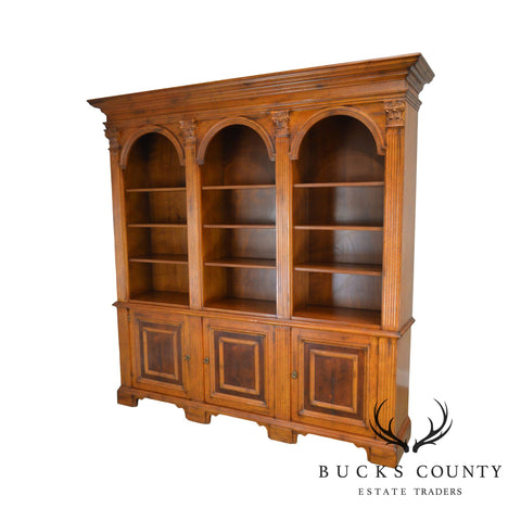 Baker Milling Road Hildebran Collection Large Italian Architectural Bookcase