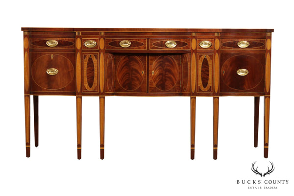 Kindel Winterthur Collection Mahogany Inlaid New York Sideboard (C)