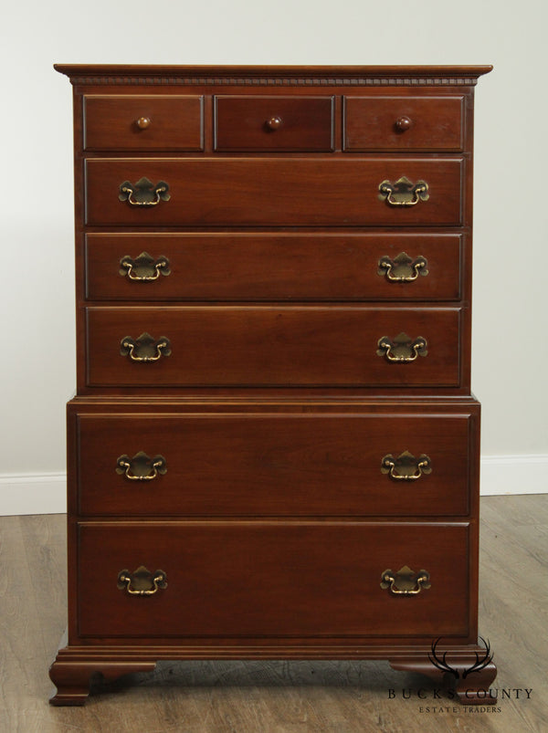 Willett Vintage Marblehead Cherry High Chest on Chest