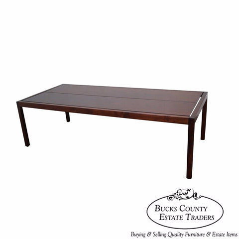 Knoll Vintage Walnut Coffee Table
