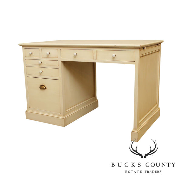 Grange French Painted Kneehole Desk