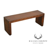 Dovetailed Top Custom Studio Quality Vintage Carved Low Table