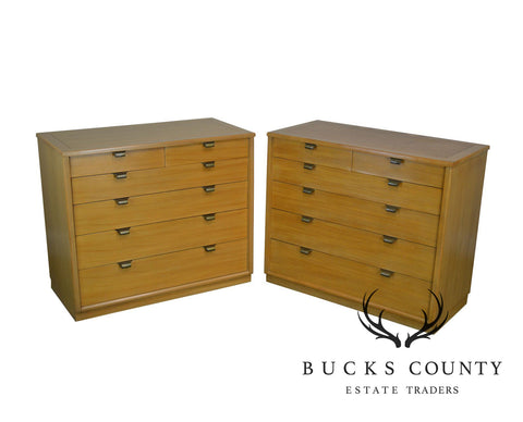 Edward Wormley for Drexel Precedent Pair Mid Century Modern Chests