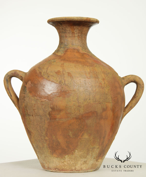 Decorative Italian Pottery Vase