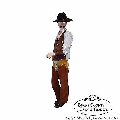 Wyatt Earp Large Dressed Life size Display Dressed Mannequin
