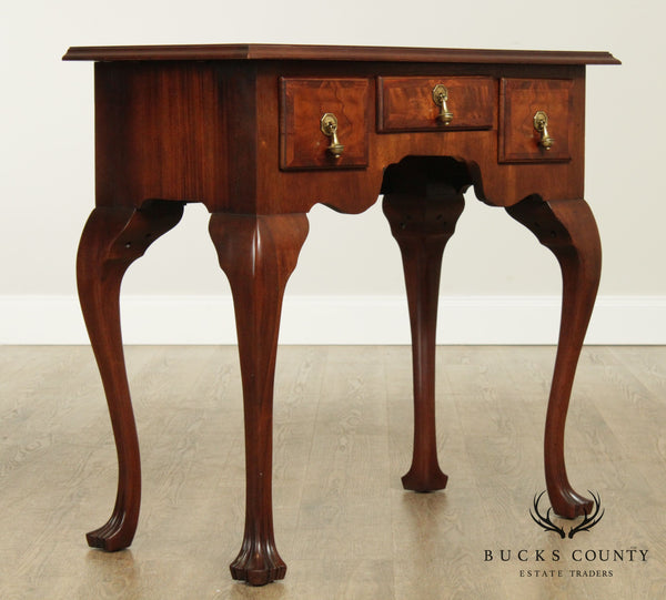 Vintage Quality Mahogany Queen Anne Lowboy Console