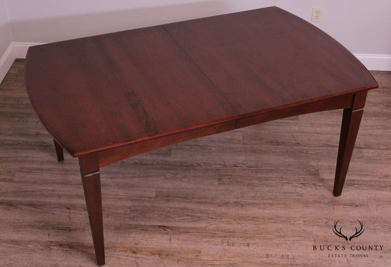 Ethan Allen Expandable Dining Table with 2 Leaves