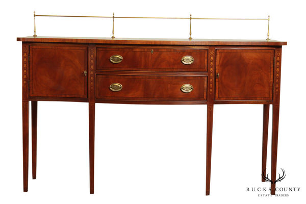 Ethan Allen 18th Century Collection Mahogany Inlaid Hepplewhite Sideboard