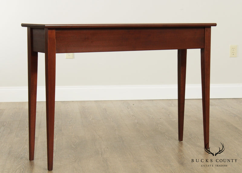 Julie Lynne Collection Cherry Shaker Style Console Table