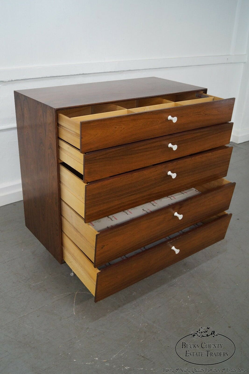 George Nelson for Herman Miller Thin Edge Rosewood Chest