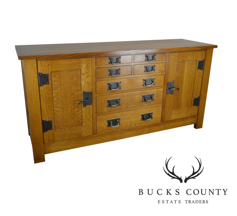 Stickley Mission Collection Oak Syracuse Sideboard