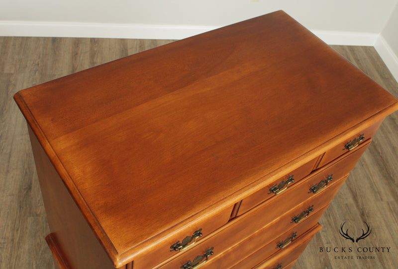 Cushman Colonial Creation Vintage Maple Tall Chest on Chest