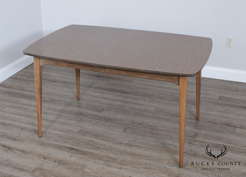 Mid Century Modern Expandable Dining Table Bucks County Estate Traders