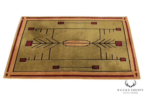 Stickley 4' x 6' Hand Knotted Prairie Designer Rug