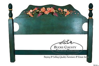Hand Painted Country Cottage Queen Size Poster Headboard (A)