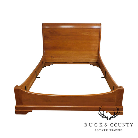 Stickley La Rochelle Collection Cherry Queen Sleigh Bed