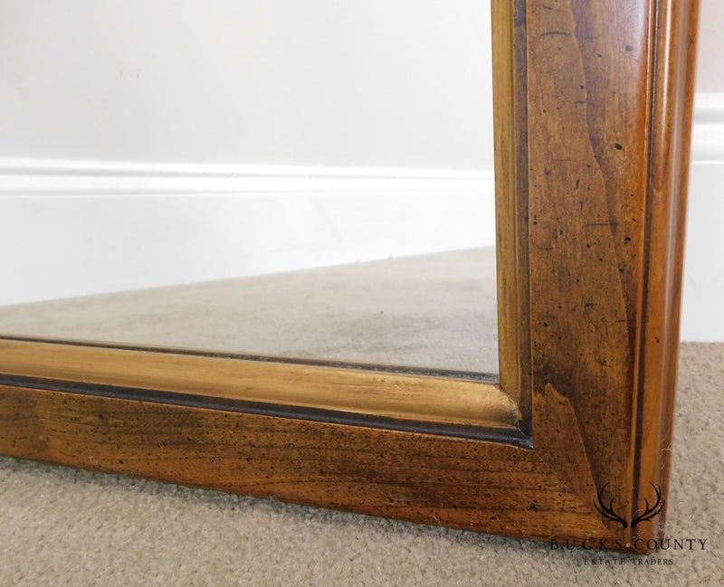 Statton Oxford Antique Finish Cherry Mirror