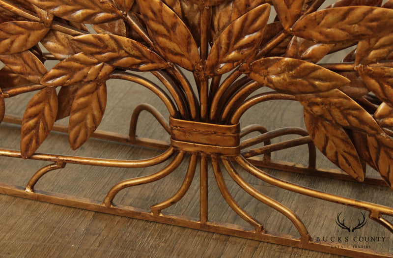 Quality Wrought Iron Tree of Life Fireplace Fire Screen