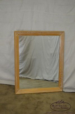 Brandt Ranch Oak Rustic Rectangular Wall Mirror