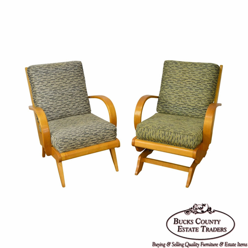 Russel Wright Mid Century Modern Pair of Lounge Chairs