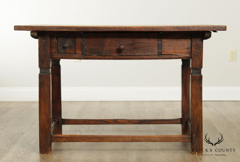 18th Century French Farmhouse Table, Kitchen Island
