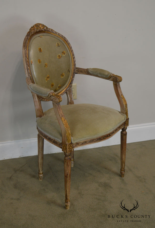 Buying & Design French Louis XVI Style Armchair