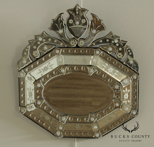 Quality Venetian Etched Wall Mirror