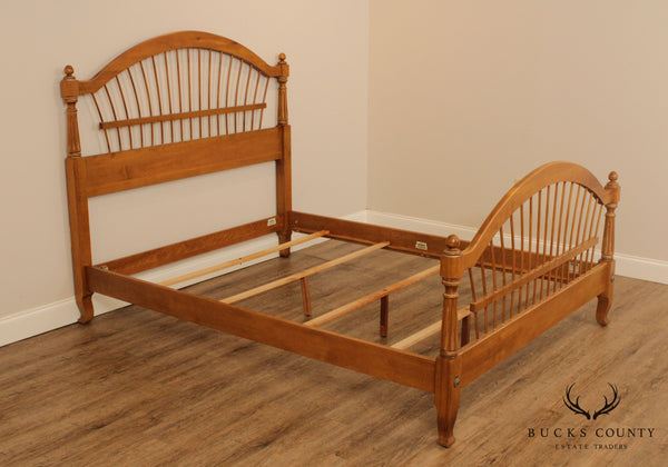 Ethan Allen Country French Queen Size Bed