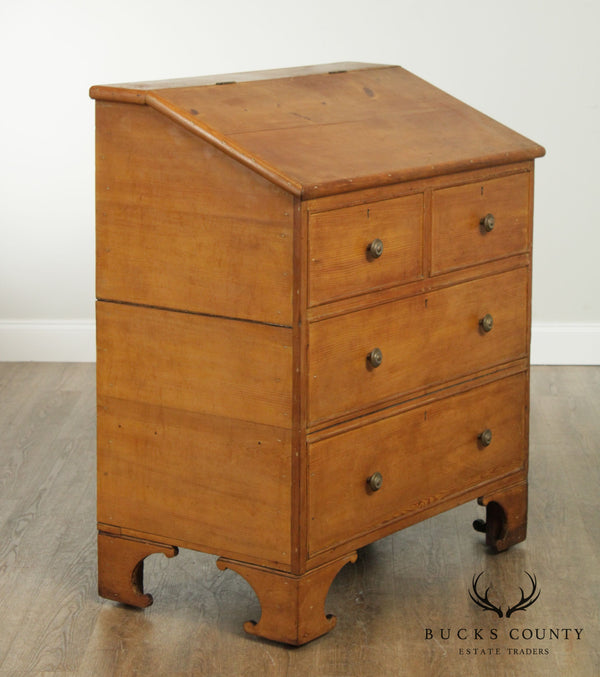 Antique 19th Century American Pine Sugar Chest