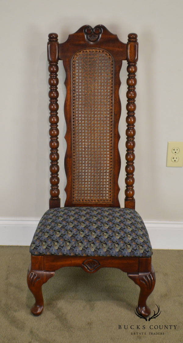 American Drew Bicentennial Edition Tree of Promis Caned Back Slipper Chair